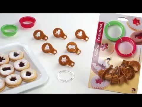 Video Tescoma Delícia Vykrajovátka tradiční na linecké 1