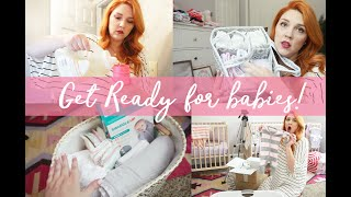 PREPARING FOR BABY | NESTING & ORGANIZING