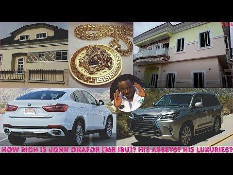How rich is John Okafor (Mr Ibu) ► All Mr Ibu's Assets, Mansion, Cars & Luxuries