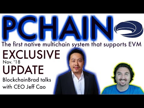 PChain Exclusive Update   First Native Multichain   Scaling Platform