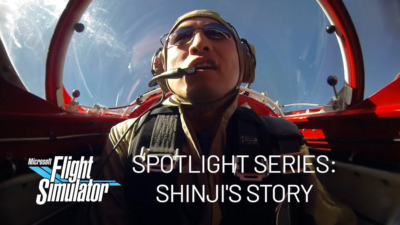 Microsoft Flight Simulator Spotlight Series: Shinji's Story Video Still