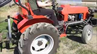 Мой самодельный трактор 3 часть