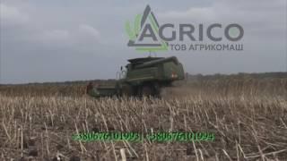Приспособление для уборки подсолнечника НАШ от компании Агрикомаш ООО - видео