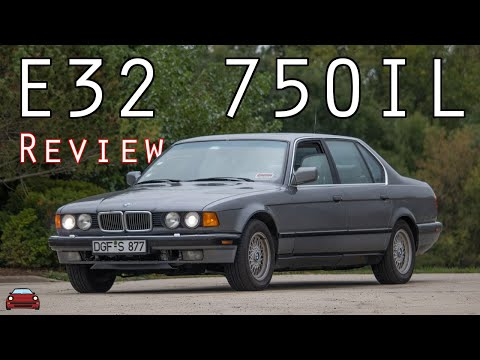 1993 BMW 750iL Review - A 1990's V12 Luxury Sedan!