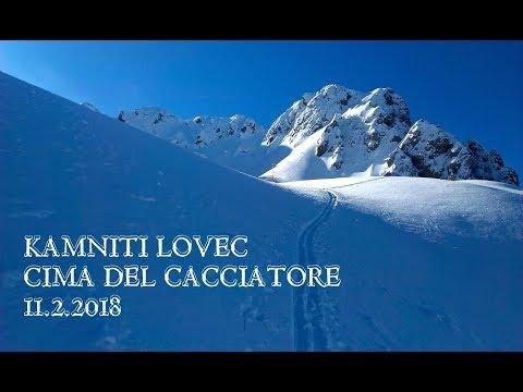 Kamniti Lovec - Cima del Cacciatore, 11.2.2018