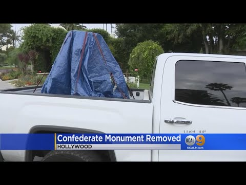 Confederate Monument Removed From Hollywood Forever Cemetery