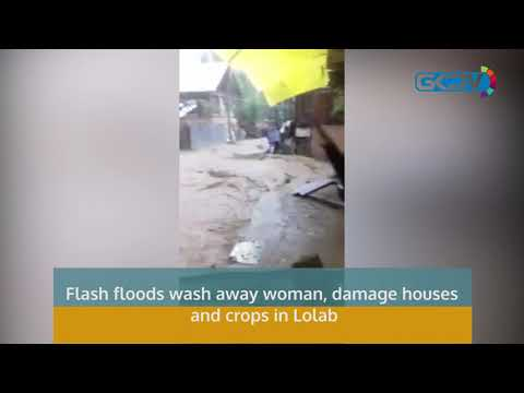 Flash floods wash away woman, damage houses and crops in Lolab