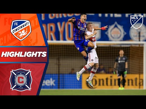 FC Cincinnati vs. Chicago Fire | Schweinsteiger's playoff hopes on the line! | HIGHLIGHTS