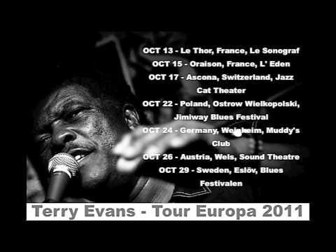 Terry Evans - Tour Europa 2011