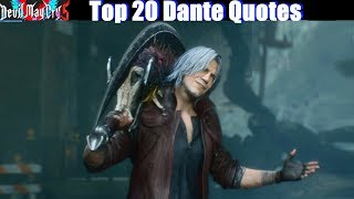 Dante mocking his Enemies (DMC1-DMC5 Best Quotes) - Devil May Cry 5 2019