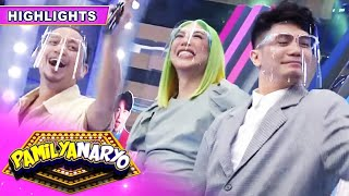 Vice Ganda, Vhong Navarro and Jhong Hilario goof around as they express how much they missed each other.  Subscribe to ABS-CBN Entertainment channel! - http://bit.ly/ABS-CBNEntertainment   Watch your favorite Kapamilya shows LIVE! Book your tickets now at http://bit.ly/KTX-ShowtimeXP   Watch the full episodes of It's Showtime on TFC.TV  http://bit.ly/ItsShowtime-TFCTV and on iWant for Philippine viewers, click: http://bit.ly/ItsShowtimeiWant   Visit our official websites!  https://entertainment.abs-cbnom/tv/shows/itsshowtime/main http://www.push.com.ph   Facebook: http://www.facebook.com/ABSCBNnetwork Twitter: https://twitter.com/ABSCBN  Instagram: http://instagram.com/abscbn   #ItsShowtime #ShowtimeMagkaisayahan  #ABSCBNShowtime