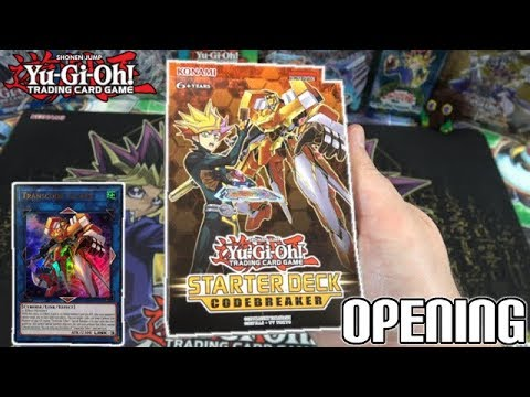 Yu-Gi-Oh! Starter Deck: Codebreaker 2018 TCG Opening & Review | NEW Cyberse Cards!