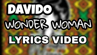Davido   Wonder Woman (Lyrics Video)