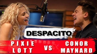 Despacito - cover mash up (Conor Maynard vs pixie Lott) lyrics