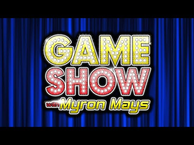 Game Show With Myron Mays: Mindless Trivia