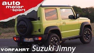 Suzuki Jimny (2018): Eine kleine G-Klasse? – Vorfahrt (Review) | auto motor und sport