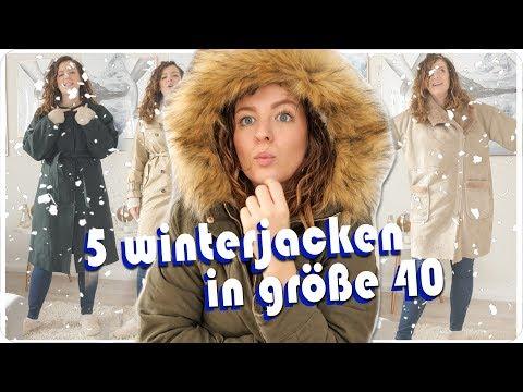 ich teste LIVE 5 Jacken in Größe 40 - Size Inbetweenie