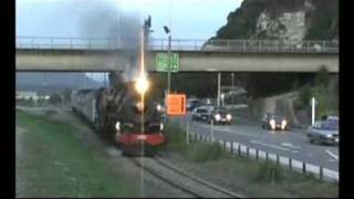 preview picture of video 'JB 1236 Arriving at Greymouth'