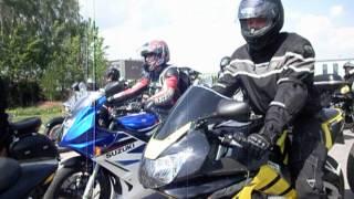 preview picture of video 'Bielsk Podlaski - Rozpoczęcie sezonu motocyklowego 2012'