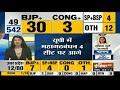 Results 2019: पहला रुझान आया सामने, 30 सीटों से BJP आगे, 4 सीट कांग्रेस को, 4 SP-BSP, 12 अन्य - Video