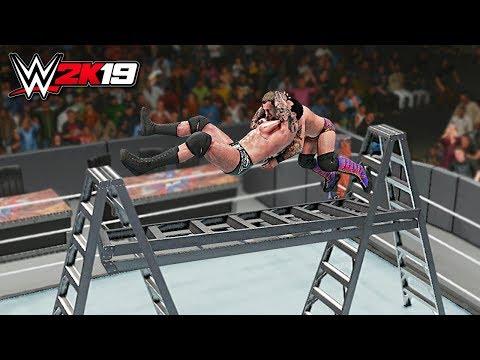 WWE 2K19 Top 10 Extreme RKO's!!