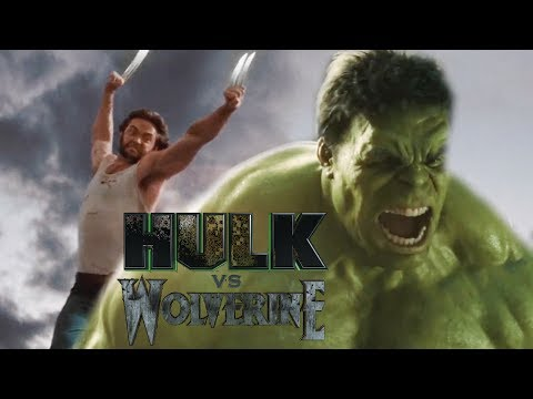 Hulk VS Wolverine Epic Battle Trailer (Fan Made)