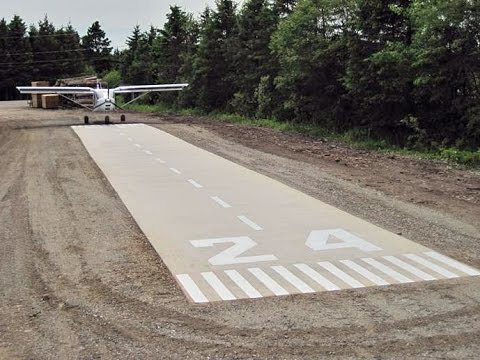 Taking Off and Landing on the Worlds Shortest Runway