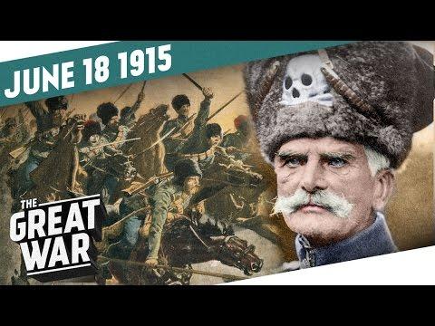 Obdivuhodný útok ruské kavalérie - Velká válka