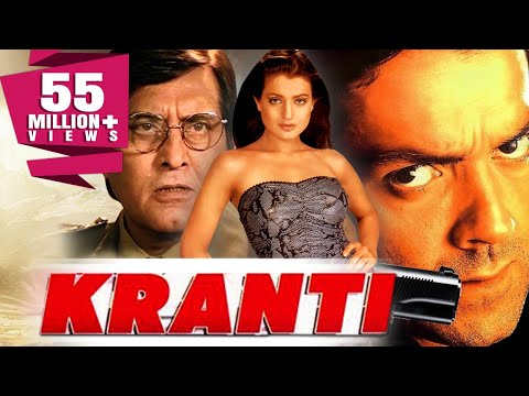 Download Kranti (2002) Full Hindi Movie | Bobby Deol, Vinod Khanna, Ameesha Patel, Rati Agnihotri HD Mp4 3GP Video and MP3