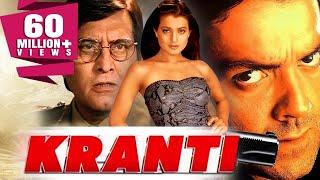 Kranti (2002) Full Hindi Movie   Bobby Deol, Vinod Khanna, Ameesha Patel, Rati Agnihotri
