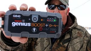 GB40 Jump Box by NOCO. This thing Surprised Us.