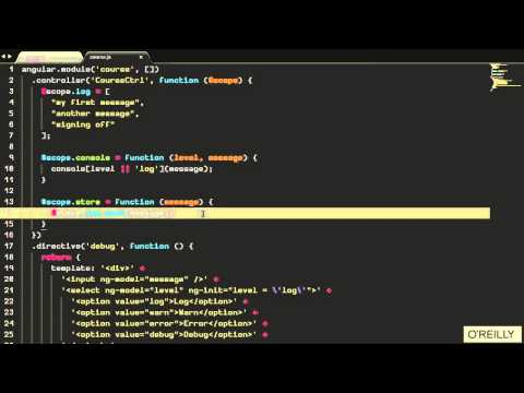Factories and Directives in AngularJS Tutorial | Advanced Scoping ...