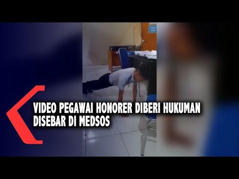 video pegawai honorer diberi hukuman disebar di medsos