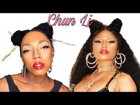 Nicki Minaj - Chun LI Makeup Inspired Look