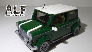 Lego Creator 10242 Mini Cooper MK VII - Lego Speed Build Review