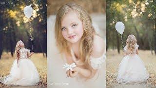 Amazing Creative Portraits Photoshoot With Beautiful Little Princesses, Kids Photography
