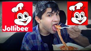 ME EATING JOLLIBEE MUKBANG - Video Youtube