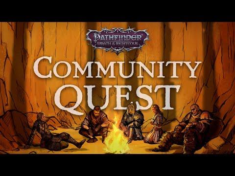 Présentation de la Community Quest de Pathfinder: Wrath of the Righteous