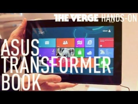 מודרני הוכרז: Asus Transformer Book – מחשב נייד עם מסך נשלף מריץ Windows NK-31