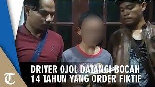 Video Puluhan Driver Ojol Soloraya Serbu Bocah 14 Tahun yang Lakukan Order Fiktif Sebanyak 185 Kali