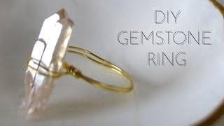 DIY Gemstone Ring