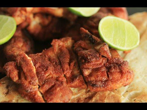 ไก่อบสโมกพาพริกา : Smoked Paprika Chicken