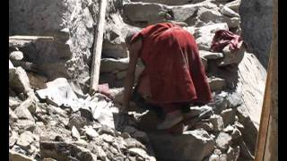 preview picture of video 'Thiksey Monastery  in Ladakh (the North of India)'