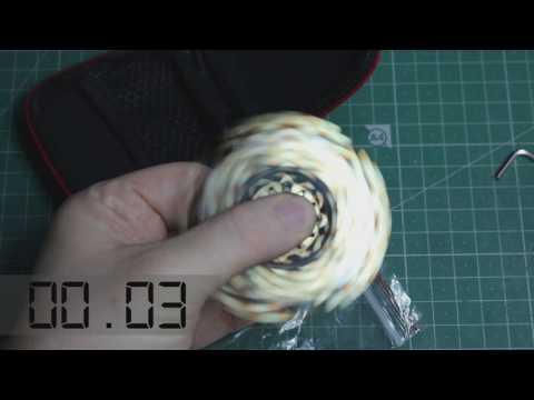 ECUBEE 9 Gear Brass Fidget Spinner from Banggood