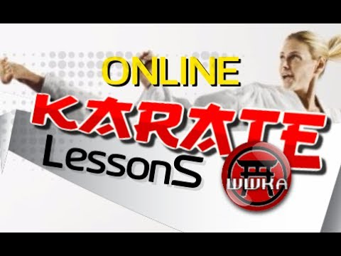 Learn Karate Online   With The WWKA   - YouTube