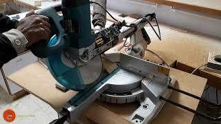 How To Use Makita Miter Saw | How To Cut Wood into 45 ,30 ,90 Degree | Wood Cutter Machine 2020