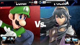 Sink or Swim 113 Grand Finals - Stroder (Luigi) vs Saiki (Pokemon Trainer)