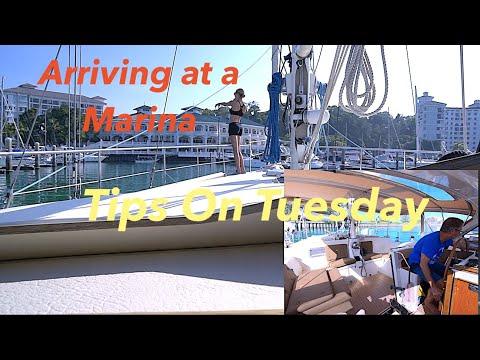 Docking an Amel Super Maramu - Tips on Tuesday