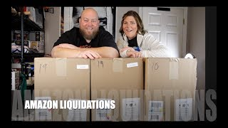 Opening Up an Amazon Customer Returns $1,560 Liquidation Pallet