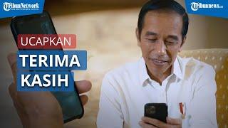 Momen Presiden Jokowi Berbincang secara Virtual dengan Dokter Paru yang Sempat Terpapar Covid-19